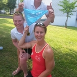 Julia Richter (W1x), Julia Lier und Mareike Adams (W2x) in Luzern